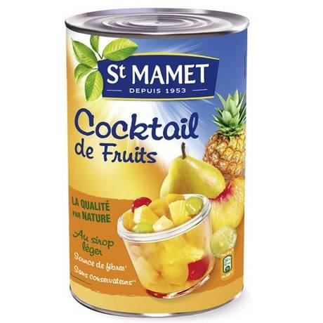 St mamet cocktail de fruits 5 1 achat vente fruits au sirop st mamet cocktail de fruit - Fruits au sirop maison ...
