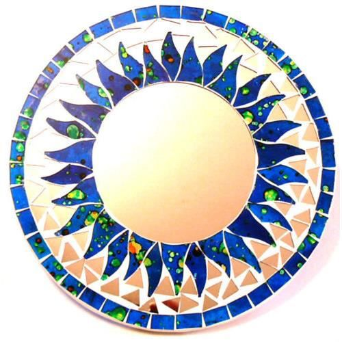 Miroir glace deco mosaique decoration original 20c achat for Miroir glace