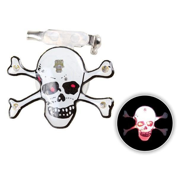 Hauteur:2 cm Fixation pin/'s Insigne à tête de mort