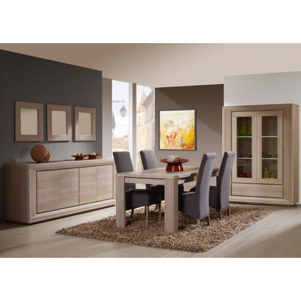 salle manger compl te eva achat vente salle manger salle manger compl te eva cdiscount. Black Bedroom Furniture Sets. Home Design Ideas