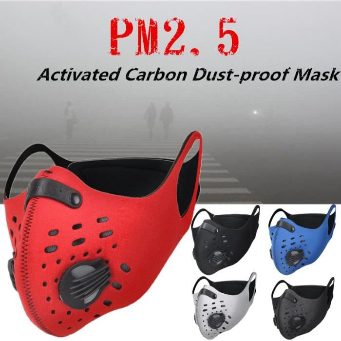 masque respiratoire pollution