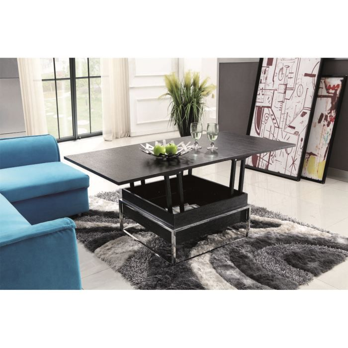 table basse modulable rallonge design easy achat vente table basse table basse relevable. Black Bedroom Furniture Sets. Home Design Ideas