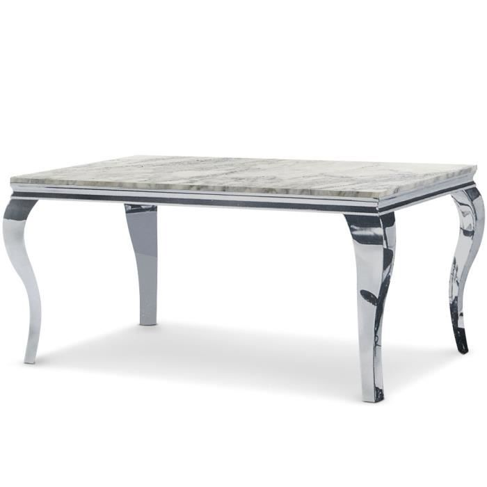 table en marbre murano blanc achat vente table. Black Bedroom Furniture Sets. Home Design Ideas