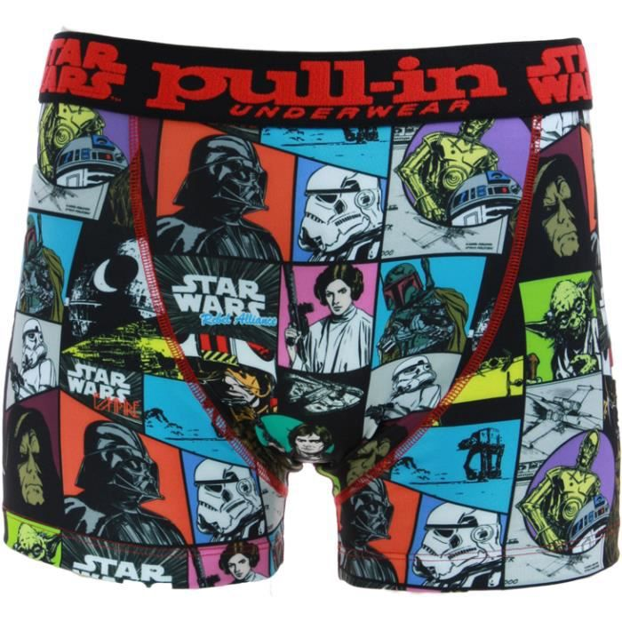 pull in star wars boxer band achat vente boxer shorty cdiscount. Black Bedroom Furniture Sets. Home Design Ideas