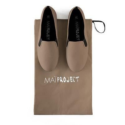 chaussures MAI PROJECT taupe