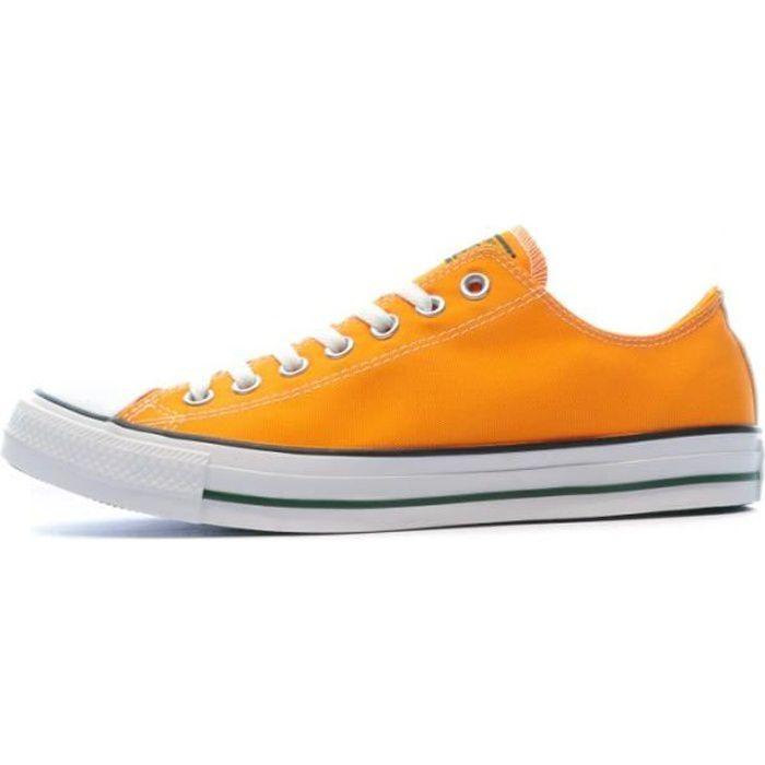 Basket basse Orange Homme CONVERSE CTAS OX Orange - Achat / Vente basket -  Cdiscount