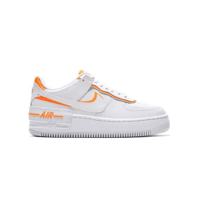 air force 1 orange