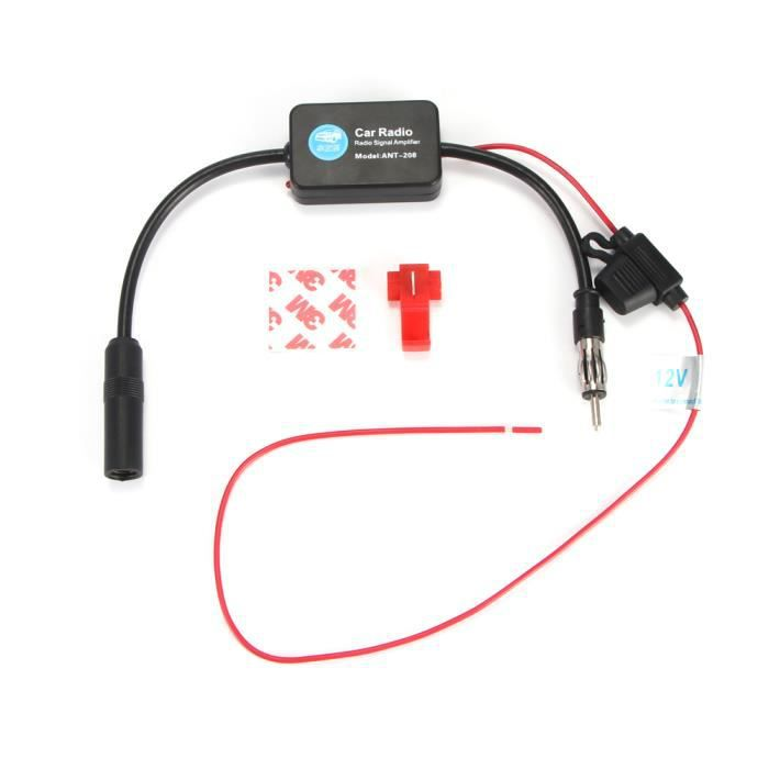 /Nageoire Antenne Universe Shark antenne de toit /& connecteur FAKRA amplificateur Antenne Adaptateur Alimentation fant/ôme Mercedes Benz Noir/