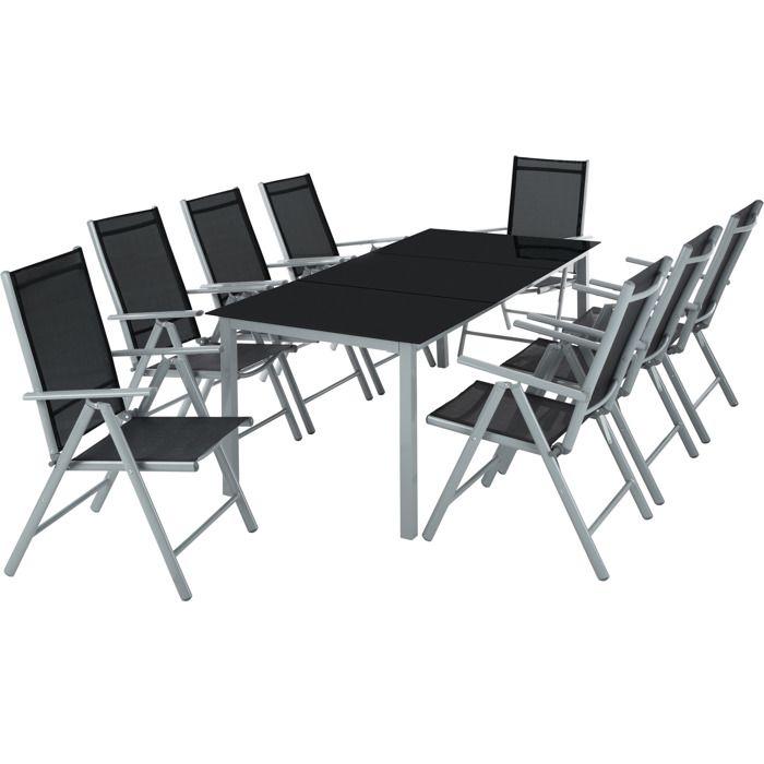 Table de jardin pliante avec chaise plastique