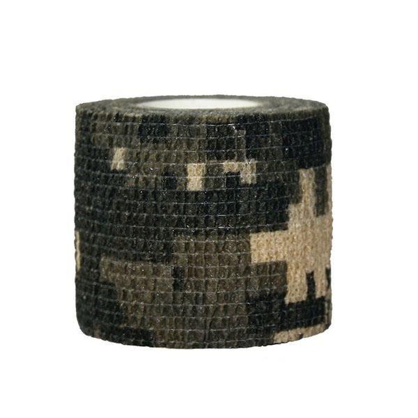 """3 Rouleau De Camouflage De Chasse tissu ruban 2/"""" X 10/' Wrap Militaire Camouflage Stretch Bandage"""