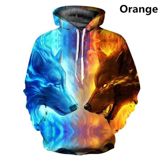 Pullovers Printed À F7382 Mode Hop 3d Hommes Lion Tiger Hip Capuche Femmes Sweats Hooded 4qxOYfBwqW