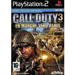 JEU PS2 CALL OF DUTY 3 PLATINUM / Jeu console PS2