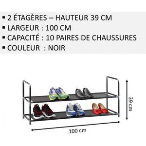 MEUBLE ÉTAGÈRE Meuble Chaussures,No57, Modulable 2 14 Étagères (1
