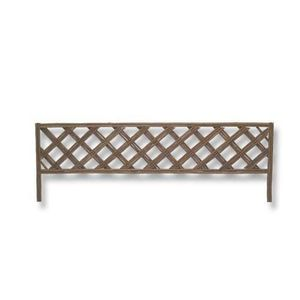 Bordure de Jardin decorative en osier 100 x 34 cm - Cross ...