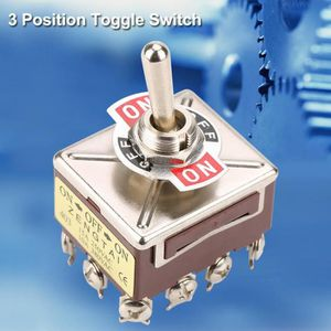 Dimensions Interrupteur /à bascule 4 broches en OFF//ON Montage env 28,5 x 21,15 mm Id/éal pour remplacer les tondeuses /à gazon.