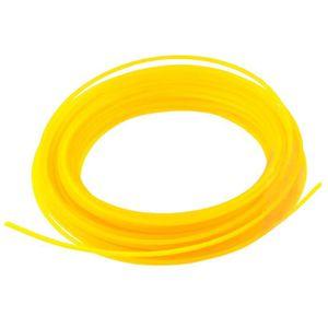2 x nouveau rotofil ligne 20m x 1.25mm en nylon durable bobine recharge cordon fil tondeuse