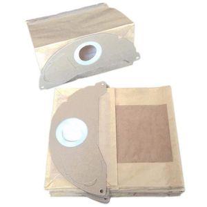 40 sacs pour aspirateur adapté pour Karcher a 2054 MENALUX 2074 Pt filtration 2064 Pt