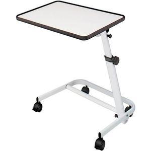EQUIPEMENT DU LIT Table pour lit inclinable et pliable avec roulette