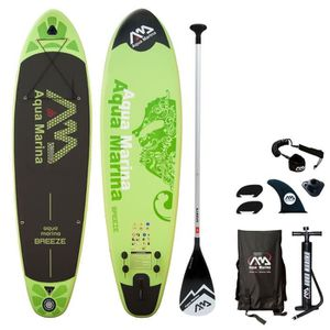 STAND UP PADDLE BREEZE Stand Up Paddle gonflable avec pompe haute