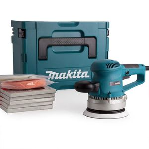 PONCEUSE - POLISSEUSE MAKITA Ponceuse excentrique 150mm 310W + 56 access