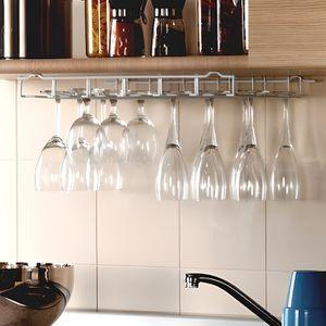 PORTE-VERRE Porte-verres à pied en métal - blanc