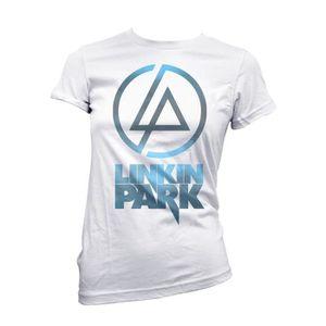 T-SHIRT T-shirt  femme Linkin Park - sky texture logo T-sh