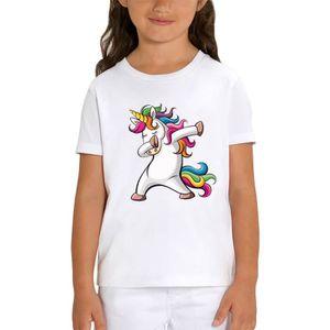 T-SHIRT T-shirt LICORNE DAB - PIXEL EVOLUTION - Enfant