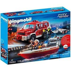 UNIVERS MINIATURE Jeux et jouets - PLAYMOBIL 70054 City Action - Fig
