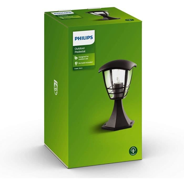 PHILIPS Borne / Piquet Creek noire 1x60W 230V