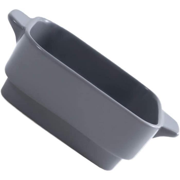 YARNOW Lasagnes Individuel Plat Grand Profond en Cramique de Cuisson Pan Plat de Service avec Poigne Rectangulaire Plat De Cu[3610]