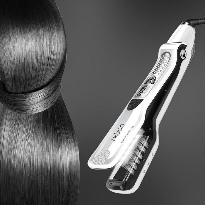 Lisseur steampod cheveux professionnel fer à lisser vapeur plat plaque chauffante flottante Spray vapeur brosse lissante 31