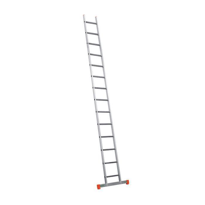 Echelle simple professionnelle 450 Marches : 1x14 Longueur d'echelle : 4,41 m