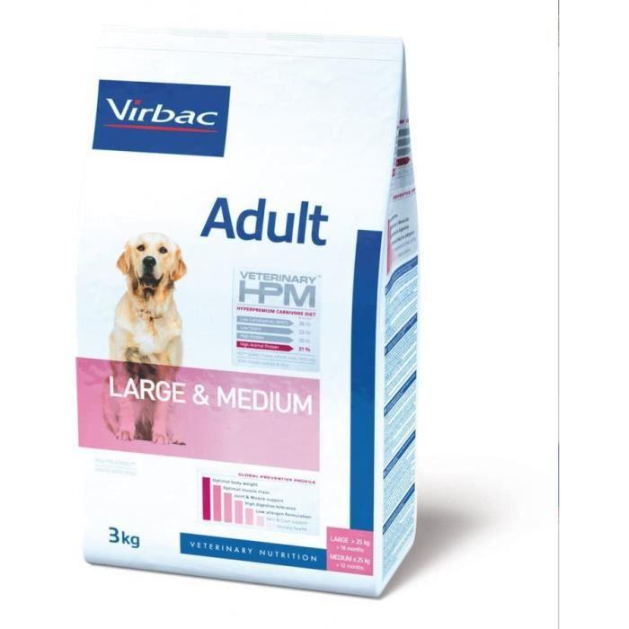 vet dog ad m-l nourriture pour chien 16 kg
