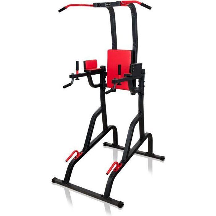 Marbo Sport Chaise romaine indépendante avec barre de traction Station de Trempage MS-U110