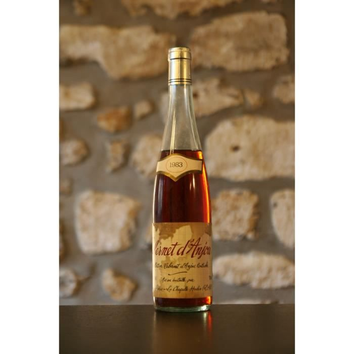 anjou,rose,Cabernet d'Anjou, mise Poirier 1983 Simple