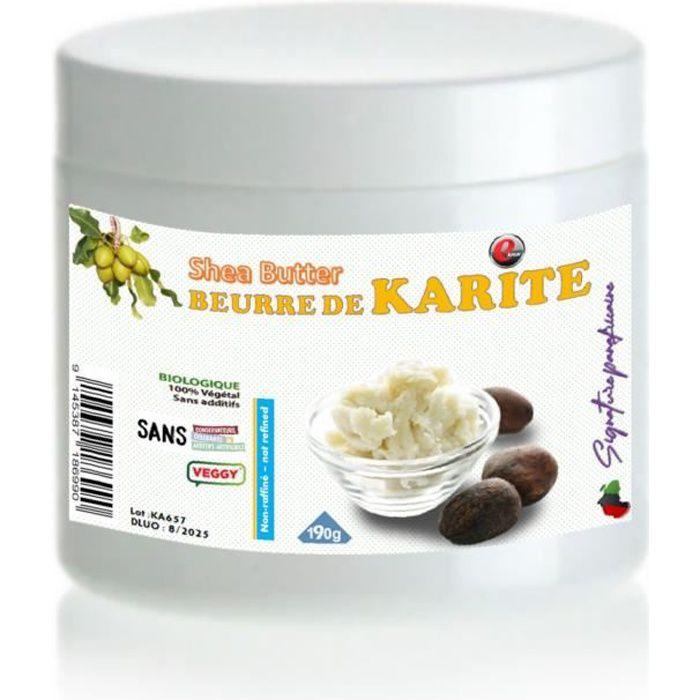 Beurre de karité -Qualité supérieure - 190g