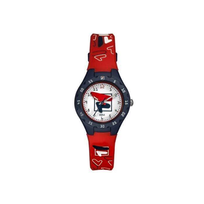 Fila Montres Rouge Enfant - 38-204-004 13mm Blanc