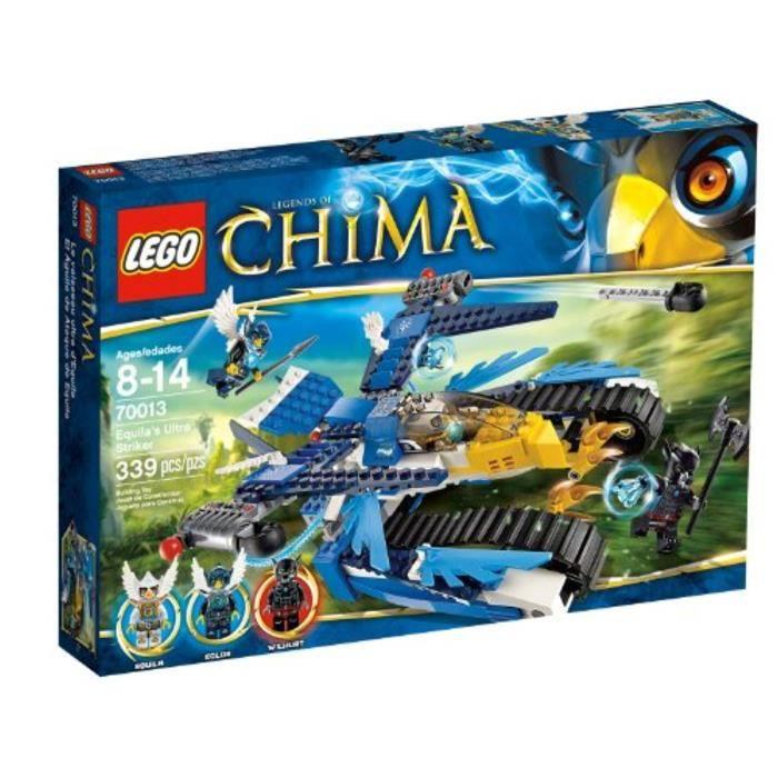 Jeu D'Assemblage LEGO RNE36 Chima 70013 Equilas Ultra Striker