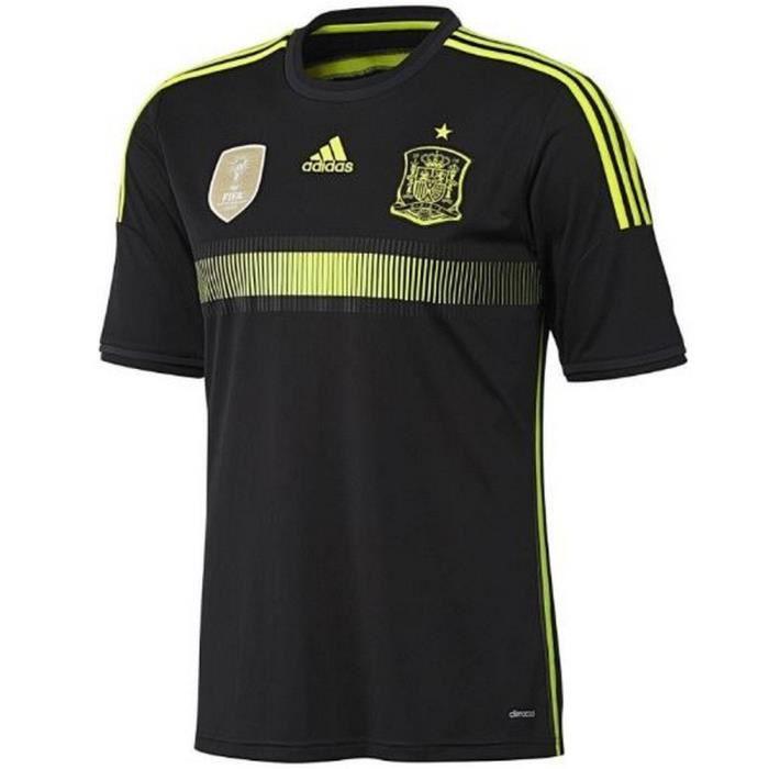 Maillot Officiel Homme Adidas Extérieur Espagne Coupe du Monde 2014