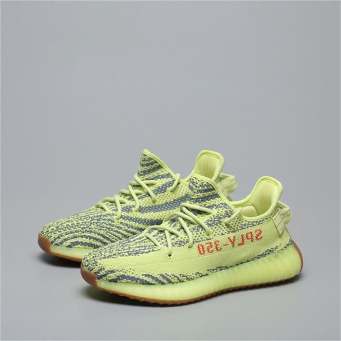 Basket YEEZY BOOST 350 V2 B37572 Chaussures de Running Homme Femme