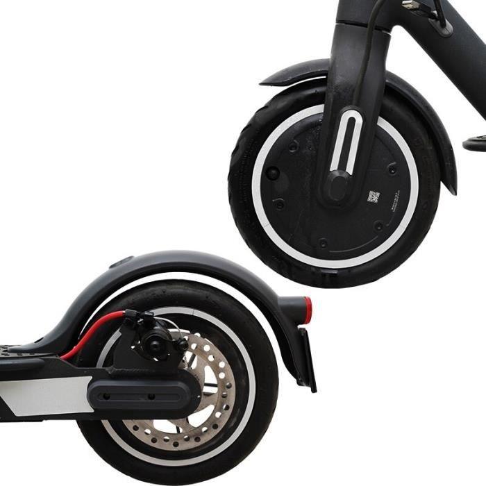 White -Autocollants réfléchissants pour Scooter électrique Xiaomi Mijia M365,bandes autocollantes imperméables pour roues,cyclisme