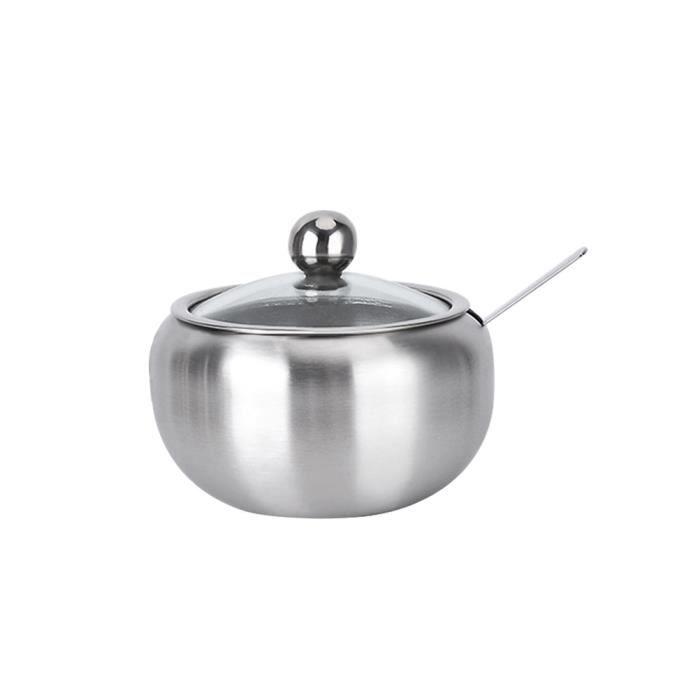 Cuisine en Acier Inoxydable Ustensile Titulaire élégant couverts de stockage pot récipient Gif
