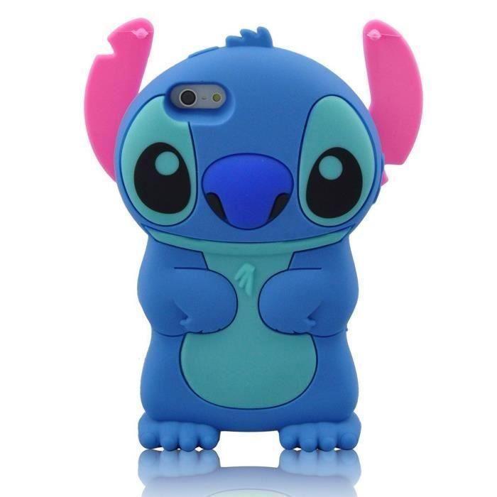 RongLe® Coque Samsung Galaxy Core Prime G360 Stitch bleu mignon de ...