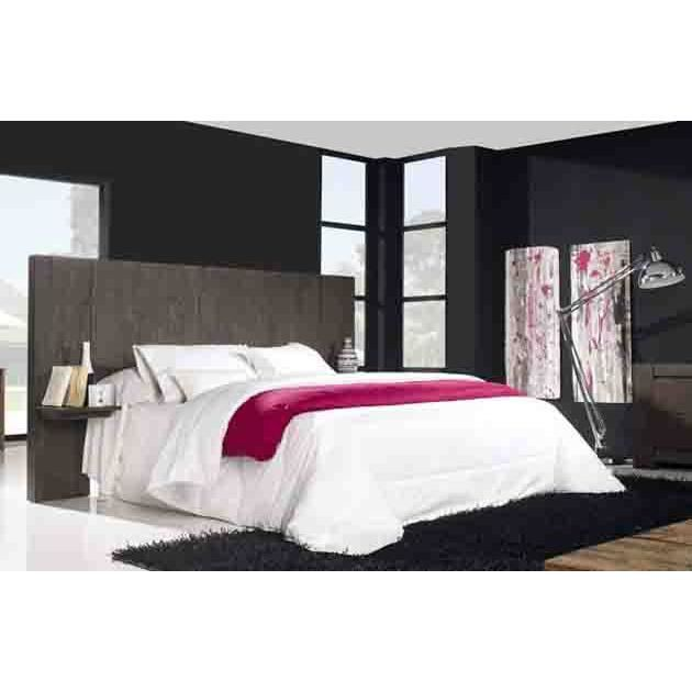 t te de lit en teck mod le lacresha achat vente t te de lit cdiscount. Black Bedroom Furniture Sets. Home Design Ideas