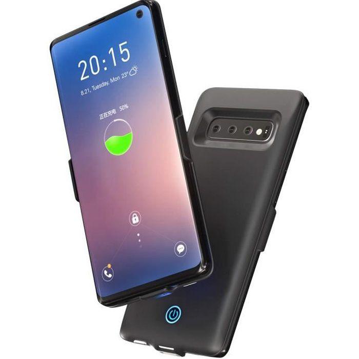 BATTERIE EXTERNE Coque Batterie Samsung Galaxy S10 PLUS , 7000mAh P