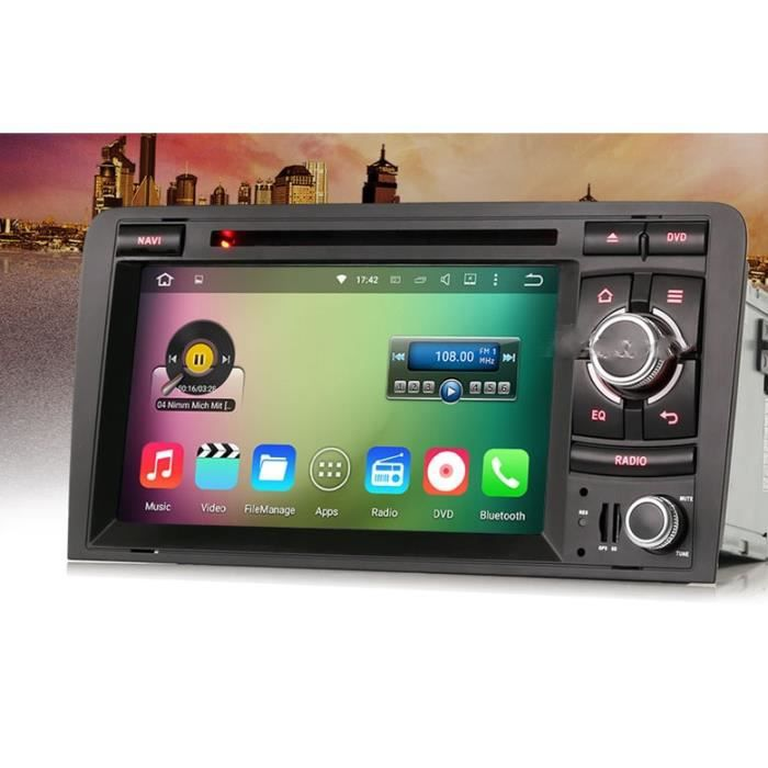 autoradio gps android audi a3 achat vente pack gps auto autoradio gps android audi les. Black Bedroom Furniture Sets. Home Design Ideas