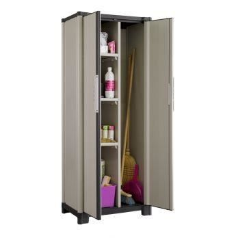 armoire 70hp combi 4 tag res placard balai achat vente coffre d 39 ext rieur armoire. Black Bedroom Furniture Sets. Home Design Ideas