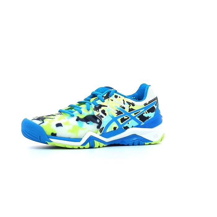 chaussures de tennis homme gel resolution 7 bleu electric asics