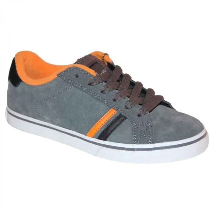 samples shoes ES LEO GREY ORANGE KIDS / ENFANTS