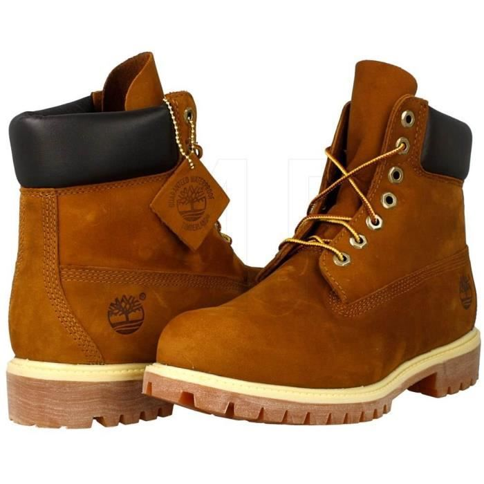timberland 6 inch homme rouille